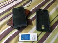 Samsung Galaxy Note 4 Black 32GB Unlocked with extras
