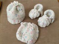 babies knitting set