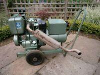 Petter type AA1 diesel 230/115 volt generator