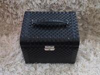 Black Studded Jewellery Box
