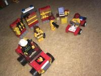 Lego fire set