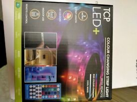 Colour changing tape light 3m new