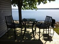 Rare 3 bedroom waterfront at McCreary's on Mississippi Lake
