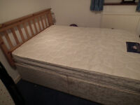 Sprung Double Divan Bed Base