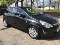 2012 VAUXHALL CORSA AUTO SE,LOW MILES,£2995