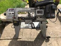 sealey band saw complete just needs attension to motor i think