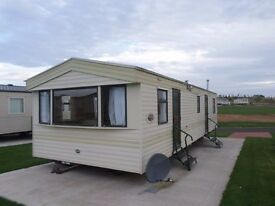 2003 ABI Arizona static caravan for sale at Chesterfield Country Park in Berwickshire/ East Lothian