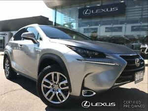 2015 Lexus NX 200t 1 Owner Luxury Pkg AWD Navi Backup Cam Sunroo