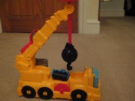 Play Dough Town Power Crane Playset