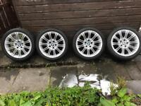 Bmw e60 18inch alloys