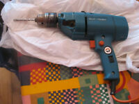 Black & Decker electric drill