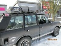 ROOF TENT AND AWNING FOR 4X4 LANDROVER GOOD AS NEW