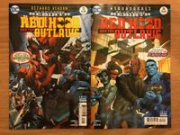 DC UNIVERSE REBIRTH RED HOOD AND THE OUTLAWS COMIC ISSUES 15-16 FIRST PRINTS