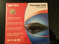 Brand new Portable dvd for computer