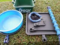 preston fishing box attachments