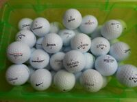 Fifty (50) Lightly Used Golf Balls Various Makes all VGC - collection from Gosport Hampshire