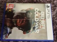 Ps5 call duty black ops Cold War