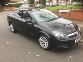 Vauxhall Astra 1.8i Sport Twintop. One owner full service 72000miles warranted