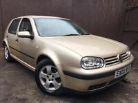 2002 (02) Volkswagen Golf 1.9 TDI Full Cream Leather Interior Heated Seat Top Rear Spec