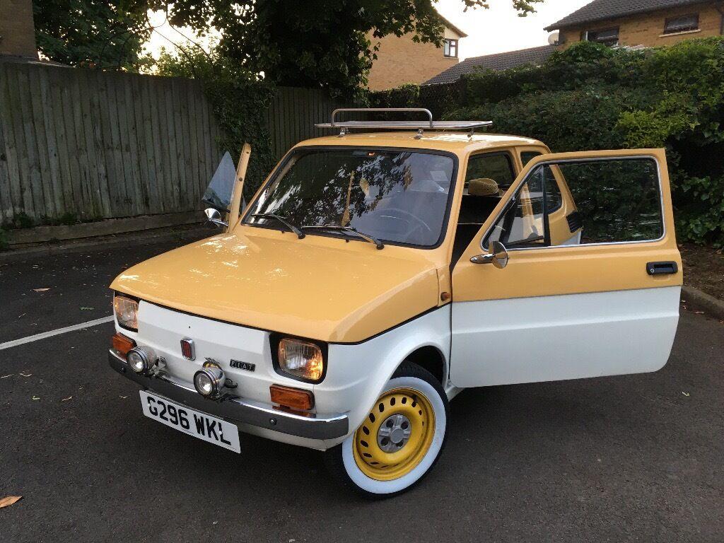 Fiat 126 P Classic Vehicle In Cambridge Cambridgeshire