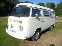 VW Baywindow Camper T2 Westfalia RHD 1974 NOW SOLD similar westy available April 17
