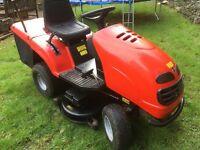 saxon Lawn master ride on mower