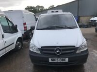 2015 MERCEDES VITO FRIDGE VAN.CLEAN EXAMPLE.1 OWNER.GREAT RUNNER.SERVICE HISTORY