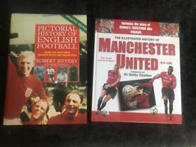 Football books like new