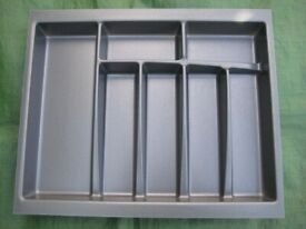 Large Grey Plastic Drawer Organiser for £2.00