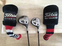 Titleist 975D Driver & 975F 3 Wood. Excellent Condition. Callaway Ping Taylormade