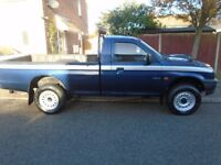 MITSUBISHI L200 4x4 PICK UP...low mileage, ideal export £1550