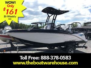 2017 Scarab 195 Open BRP 250HO Rotax T-top w/ bimini and to...