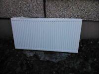 white radiator used condition