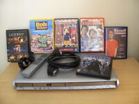 DVD player & 6 great DVD's FREE DELIVERY