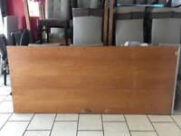 Used solid wooden door