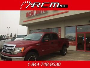 2013 Ford F-150 SuperCrew XLT 4x4 Crew Cab Pickup Truck