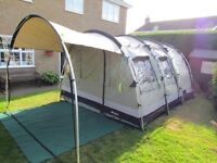 Outwell Bear Lake 4 Tent with extras - Perfect Condition
