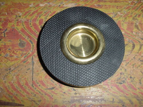RUBBER AND BRASS END PIN MATT FOR CELLO NEW OLD STOCK