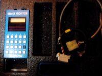 SUBARU SELECT MONITOR SSM1 WITH 11 CARTRIDGES IMPREZA LEGACY JUSTY 91 93 94 96 97 98 MAIN DEALER