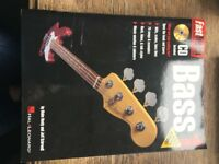 Fast Track Music Instruction on Bass guitar: book and CD