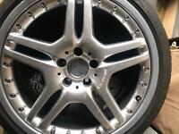 """Mercedes SL55 AMG 19"""" alloys"""