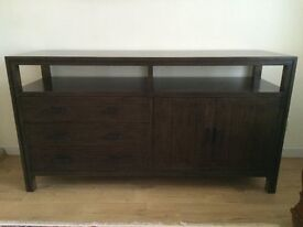 Bamboo (real wood) sideboard from Crate and Barrel
