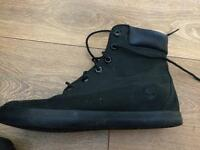 Limited edition all black timberlands