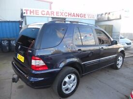 (2003)4x4 MERCEDES BENZ ML.ESTATE ,2.7.CC DIESEL ,AUTOMATIC F/S/H......