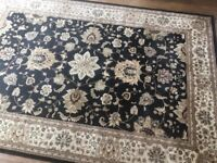 Costco Large Black Rug 6.5ft x 9.6ft