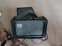 Roland Cube Street with Roland carrier bag and original power supply.