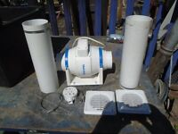 vent axia air extractor kitchen office shed etc