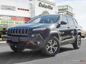 2017 Jeep Cherokee TRAILHAWK | HEATED LEATHER | NAVIGATION |