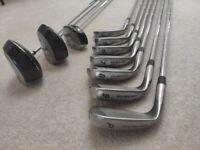 Dunlop RH Golf Iron Clubs Set + Woods (3 to P)