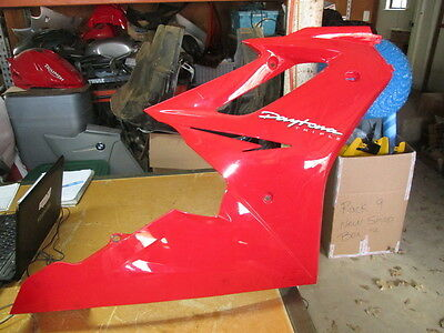 Triumph OEM Red Right Side Panel Fairing Cowl Daytona Triple 2307530